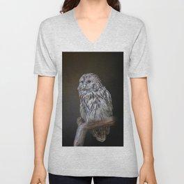 Lovely cute owl Unisex V-Neck