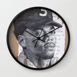 Cocoa Butter Kisses Wall Clock