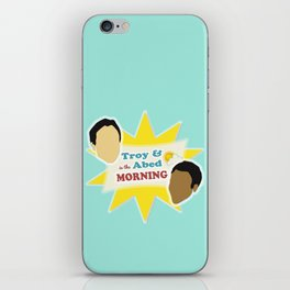 Community Troy & Abed in the Morning iPhone Skin