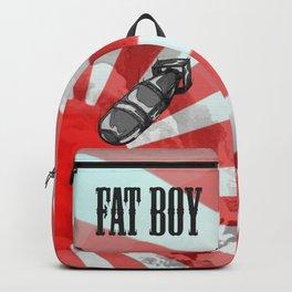 Atom Bomb Fat Boy Backpack