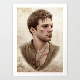Bucky Barnes Art Prints | Society6