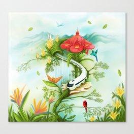 Medellin Flowers Canvas Print
