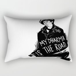 My Dharma is the Road Rectangular Pillow