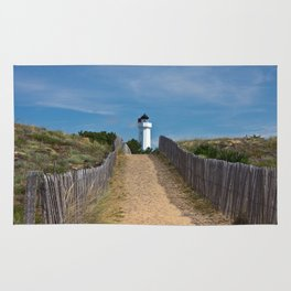 way to the lighthouse Rug