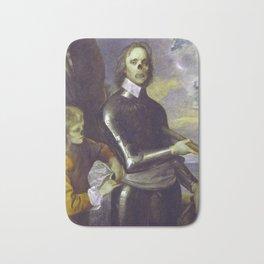 Zombie Oliver Cromwell Bath Mat