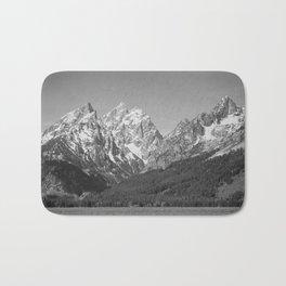 Ansel Adams - Grass Valley and Grand Tetons Bath Mat