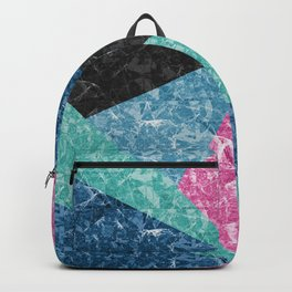 Marble Texture G427 Backpack
