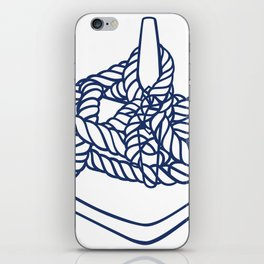 Knotical (WHITE) iPhone Skin