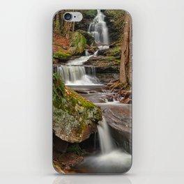 Ricketts Glen Waterfall Layers iPhone Skin