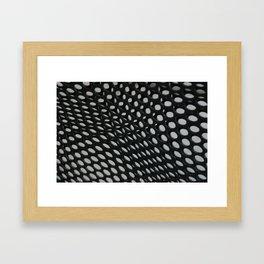 perforation Framed Art Print