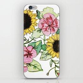 Little Miss Sunflower iPhone Skin