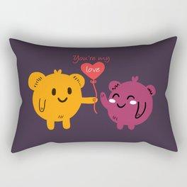 You're My Love Rectangular Pillow