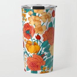 Vintage flower garden Travel Mug