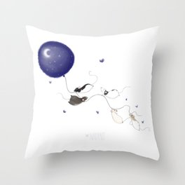 Moon and Stars *New* Throw Pillow