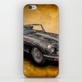 Jaguar E-Type 4.2 convertible iPhone Skin