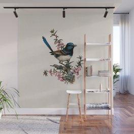 Australian Blue Wren Wall Mural