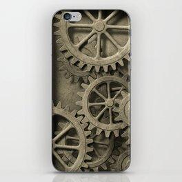 Steampunk Cogwheels iPhone Skin