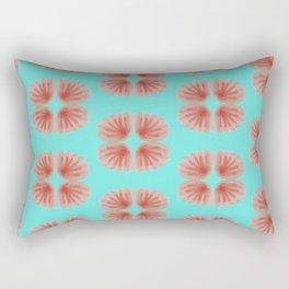 Shell Tie Dye Rectangular Pillow