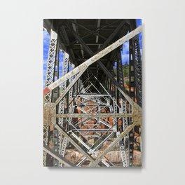 Beneath the Road--Arizona Metal Print