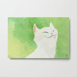 I'm a cat Metal Print
