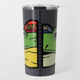 Old & New Slippy Toad Travel Mug