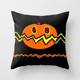 Citrouille 02 Throw Pillow