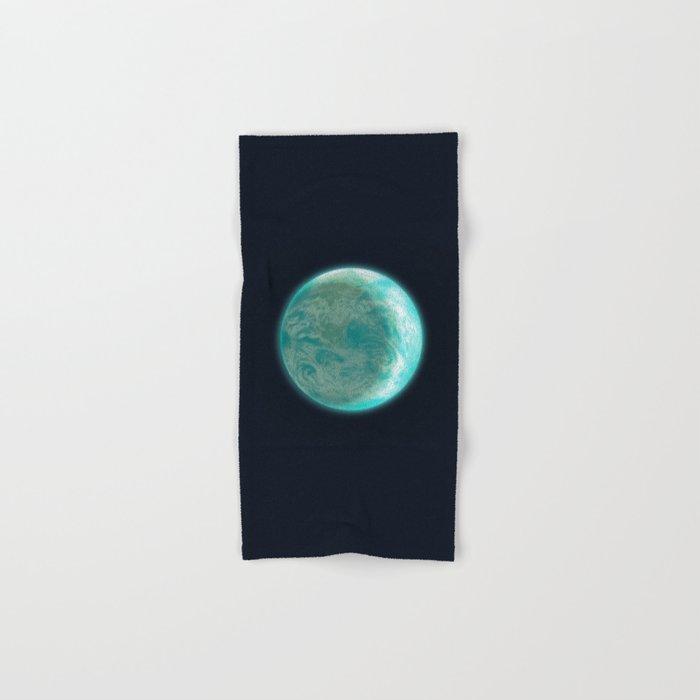 Pale Blue Dot Hand & Bath Towel