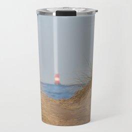 At the beach 10 Travel Mug