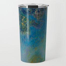 Claude Monet Wisteria Travel Mug