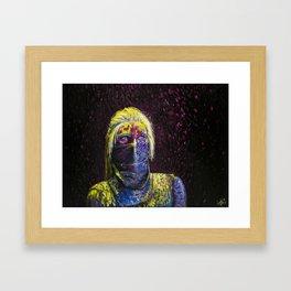 still: up in the air. Framed Art Print
