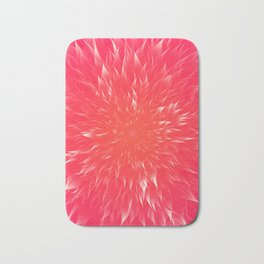 Mandala Flower    Rose Bath Mat