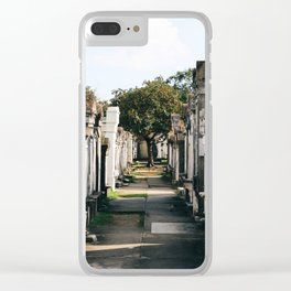 Lafayette Cemetery #1 Clear iPhone Case