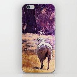Lamb Frolic with Mama Ewe by CheyAnne Sexton iPhone Skin