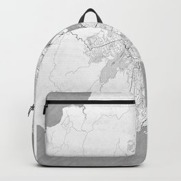 Wellington Map Line Backpack
