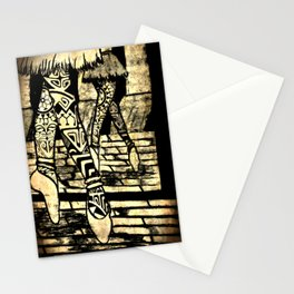 Tribal Ballet Stationery Cards