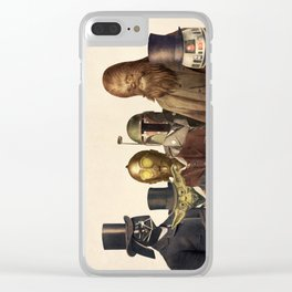 Victorian Wars Clear iPhone Case