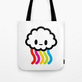 Rainbow rain Tote Bag