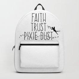 Faith Trust Pixie Dust Fairy Hand Printing Backpack