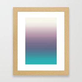 Ombré Ocean Framed Art Print