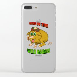 Friend of The Wild Haggis Clear iPhone Case