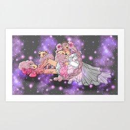 Princesse's Court Art Print