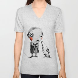 Tom & Gonzo  Unisex V-Neck