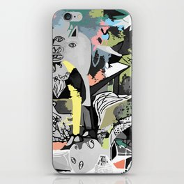 What used to be my mind ,is now my reality. iPhone Skin