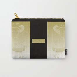 Tangent Metallic Gold Carry-All Pouch