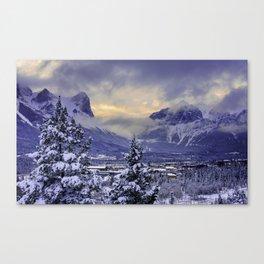 Winter Wonderland #snow Canvas Print