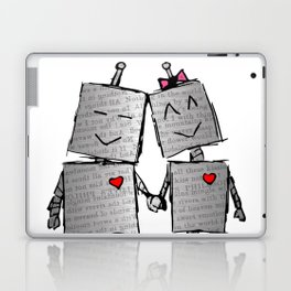 Lovebots Doodle Laptop & iPad Skin