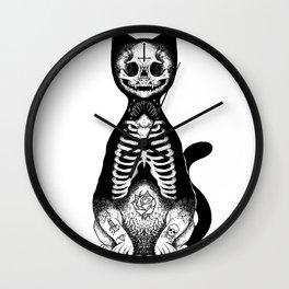 Skulls & Daggers Wall Clock