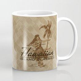 Tradewinds Hawaiian Island Hula Girl Coffee Mug