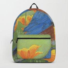 Western Bluebird Backpack