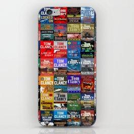 Tom Clancy Books iPhone Skin